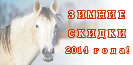 Зимние скидки 2014 года!