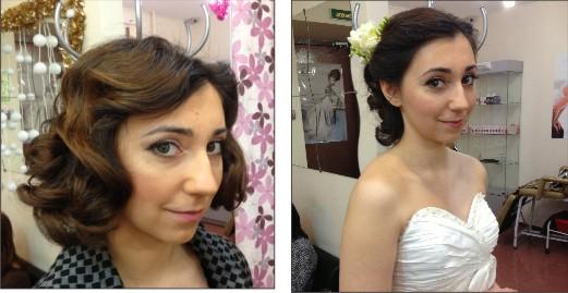 Свадебный макияж и прически